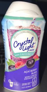 Crystal Light Chewy Candy Crystal Light Liquid With Caffeine Açai Berry Bliss Drink