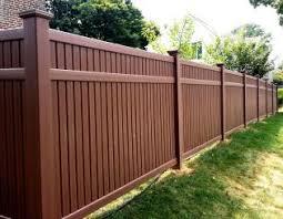 fences. Brilliant Fences Certainteed Bufftech Brazilian Imperial Select Cedar In Fences E