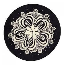 round area rugs ikea carpets carpet vidalondon flinga black white rug throw mat mandela snowflake xmas bath wool woven grey plum modern red awesome seagrass
