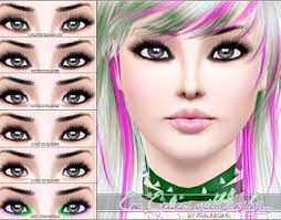 glamour makeup with emo makeup tutorial with pralinesims emo eyeliner with lashes