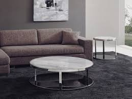 round white marble coffee table for living room