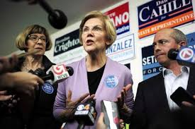 Endangered 2020 By Presidential Run Elizabeth Media 's Warren UXxZ1Pq4