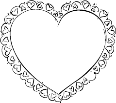 Small Picture Coloring Pages of Valentine Hearts Archives gobel coloring page