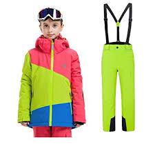 Z&X <b>Kids Winter Outdoor Ski</b> Suit Boys Sports Waterproof Clothing ...