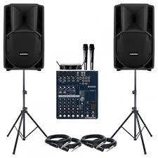 sound system. paket sound system meeting 1