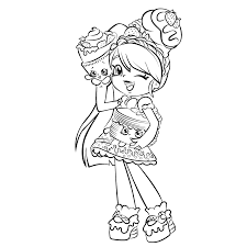 Shopkins are rather small, about two centimeters in size. Printable Shopkins Shoppies Coloring Pages