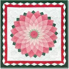 Red Dahlia Quilting by Bec Bartell. | French General | Pinterest ... & The quilting truly