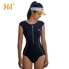 2019 <b>361 Women Swimwear</b> One Piece <b>Swimsuit</b> Push Up Tight ...