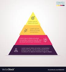 Diagram Of A Pyramid Pyramid For Infographics Chart Diagram