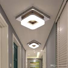 2019 modern flush mount ceiling light hallway porch balcony lamp interior lighting surface mounted square led ceiling lights from flymall 25 13 dhgate