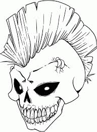 Small Picture Scary coloring pages skull ColoringStar