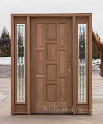 8 clearance exterior 10 panel door with olympus glass sidelites