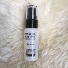 makeup forever mist fix setting spray