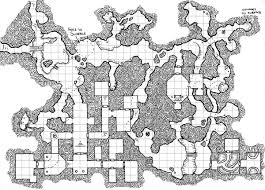 Old School Hand Drawn Dungeon Maps Rpg Ready