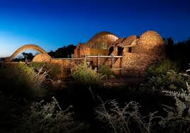 ... Mapungubwe Interpretation Centre. Night view ...