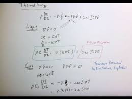 derivation of the energy equation you