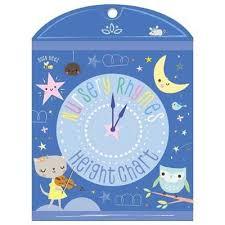 Nursery Rhymes Height Chart 9781788436922
