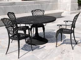 furniture then regard to expanded metal outdoor cheery table