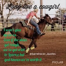 Barrel Racing Quotes Impressive Beautiful Barrel Racing Quotes On Funny Horse Quotes Tumbl
