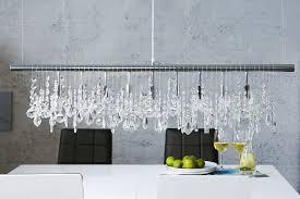 Pendelleuchte Esstisch Kristall Moderne Lampe E14