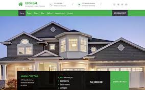 real state template ecoreal html5 real estate template wrapbootstrap