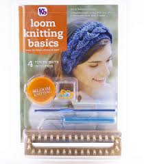 Authentic Knitting Board Kb4518 Loom Knitting Reference Guide Tool Kit With 32 Peg Wood
