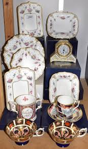 lot 1087 a royal crown derby royal antoinette pattern photo frame