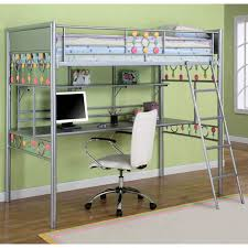bunk beds girls loft bed with desk kids bunk beds