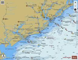 Charleston Nautical Chart Charleston Harbor And Approaches Marine Chart