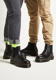 Martens 2976 platform chelsea boot in black at journeys! Dr Martens 2976 Bex Classic Ankle Boots Black Smooth Black Zalando Co Uk