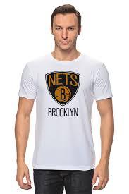 Футболка классическая <b>Brooklyn Nets</b> #648857 от tailors по цене ...
