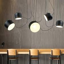drum pendant light vintage retro black drum pendant lights fixtures for dining living room industrial decor