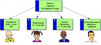Piaget S Stages Of Cognitive Development Chart Stages Of Cognitive Development Jean Piaget