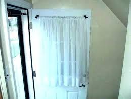 back door curtains sliding glass door curtain rod door curtain rods back door curtains sliding glass