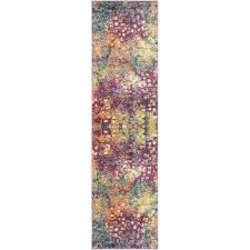details about safavieh monaco pink contemporary rug 2 2 x 8