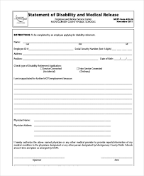 Social Security Disability Medical Release Form Lovely Social ...