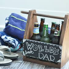 father s day diy beer caddy