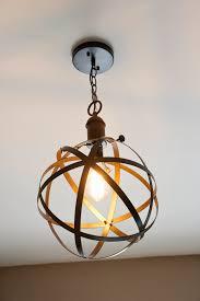 Diy Pendant Lighting Diy Industrial Rustic Pendant Light Blesser House