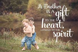 Brotherly Love Quotes Simple The Greatest Brother Quotes And Sibling Sayings