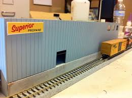 model trains scratch building a great background building custom design for your train layout you