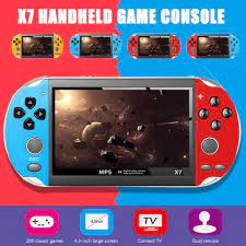 Máy Chơi Game Cầm Tay X7 8gb Psp 200 Trò Chơi