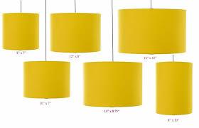 yellow pendant lighting. Elegant Drum Lamp Shades For Nice Desk And Pendant Lighting Design Ideas: Yellow R