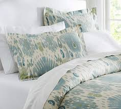 view in gallery spring blue ikat bedding