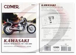 kawasaki vulcan vn repair manual clymer m  1986 2006 kawasaki vulcan vn750 repair manual clymer m356 5 service shop garage