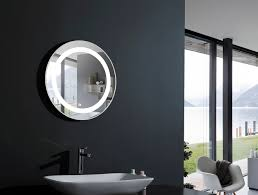 modern bathroom mirrors with lights. Awesome Round Bathroom Mirrors With Lights New Lighting Bold Paint Modern