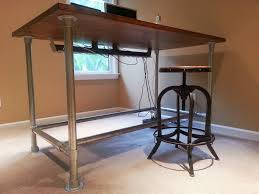 custom standing desk by simplified building concepts