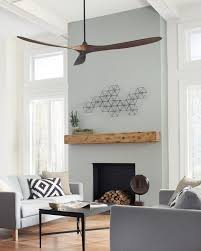 fans for living room. the maverick super max collection: with a sleek modern silhouette, dc motor and energy-efficiency, ceiling fan from monte fans for living room i