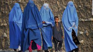 women s rights in is this an uprising cnn covered from head to toe women walk on the outskirts of jalalabad accompanied by