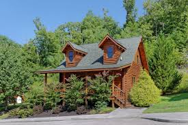 Pigeon Forge One Bedroom Plus Loft Cabin Rental That Features A Year Round  Indoor Whirl Pool