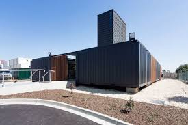 Shipping container office building Farm Storage Fort Worth Startelegram Room 11 An Office Building Made Of Shipping Containers